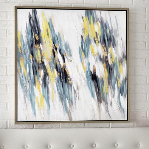 Found it at AllModern - Duality Framed Painting Print on Canvas ...