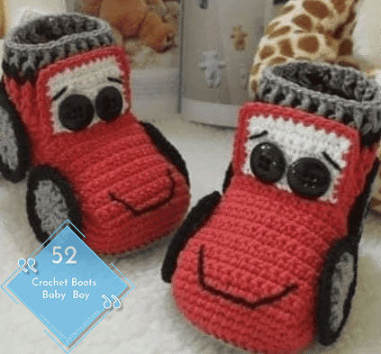 Photo of 52 Crochet Boots With Modern Patterns For Baby Boys. Advice Model: 3