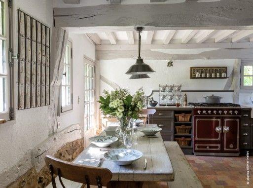 Petite chaumière normande  la tradition du sol au plafond bonao