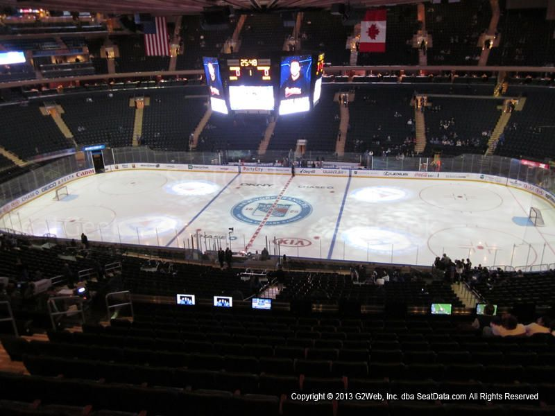 New York Rangers Seating Chart Interactive Map Seatgeek New York Rangers Madison Square Garden Madison Square