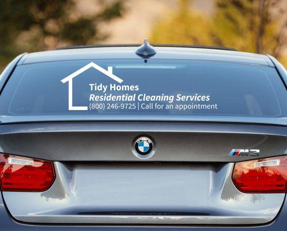 CK Lane  Company HttpsStickerTitanscom Rear Window - Promotional car window decals