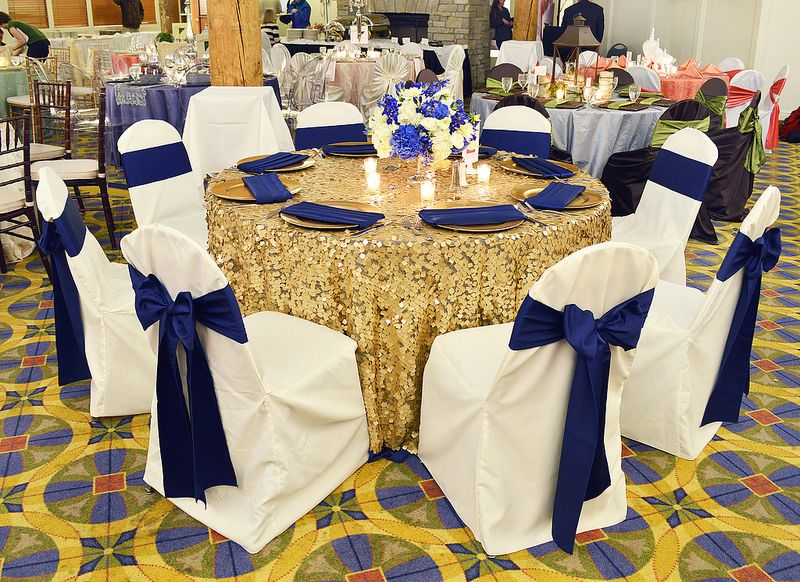 Bayview Event Center Bridal Tasting 2014 1 Blue Gold Wedding
