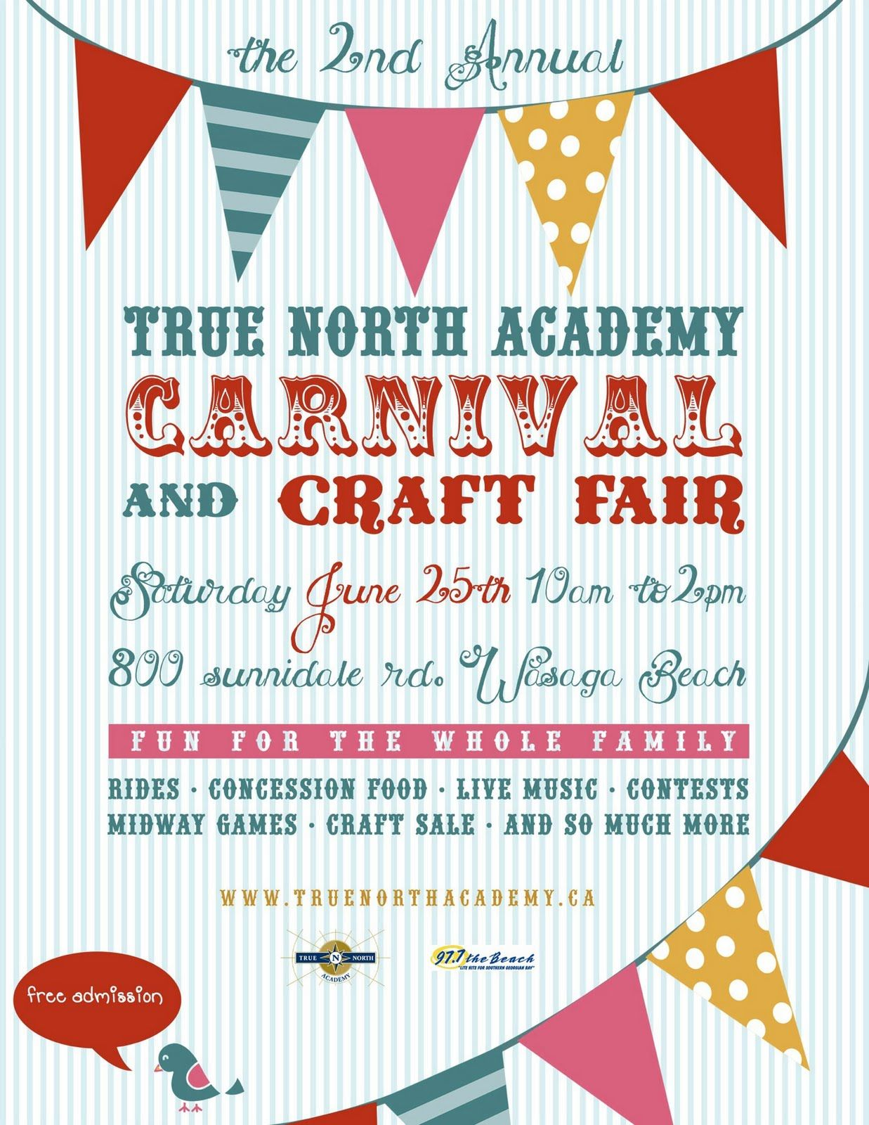 Serendipity Soiree Vintage Orange And Aqua Circus Theme Party Carnival Poster Design Request
