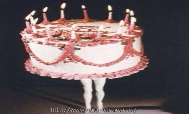 Peachy Human Birthday Cake Personalised Birthday Cards Petedlily Jamesorg