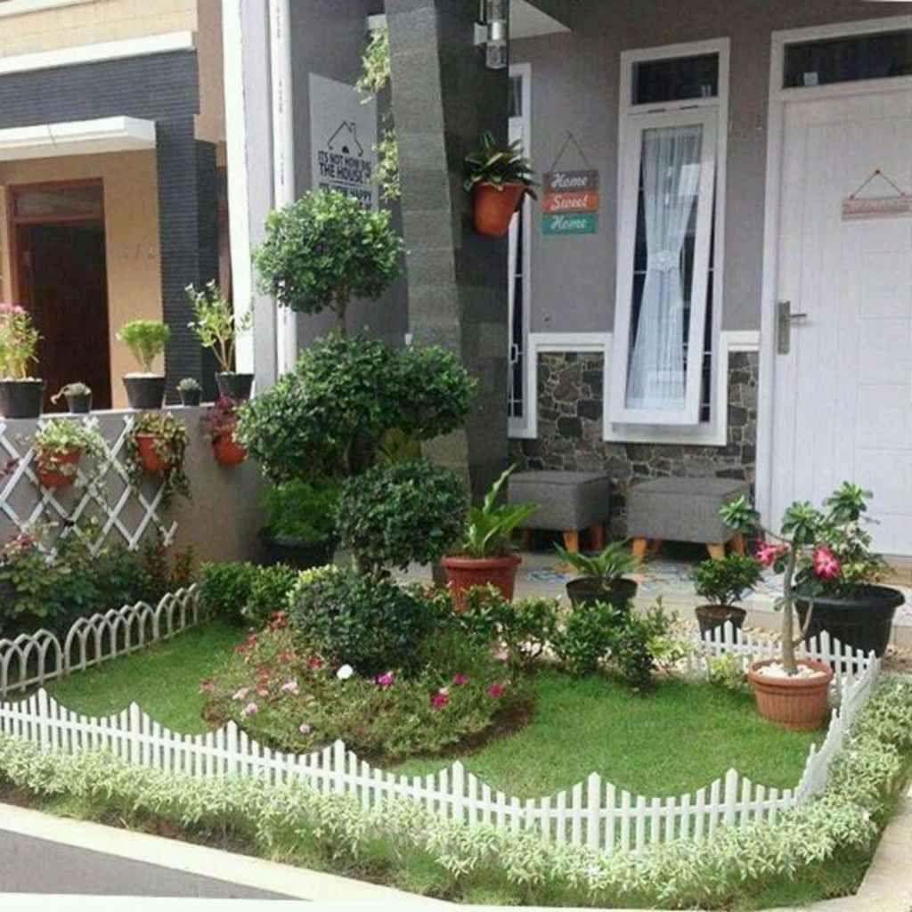 01 Awesome Small Garden Landscaping Ideas | Small garden ...