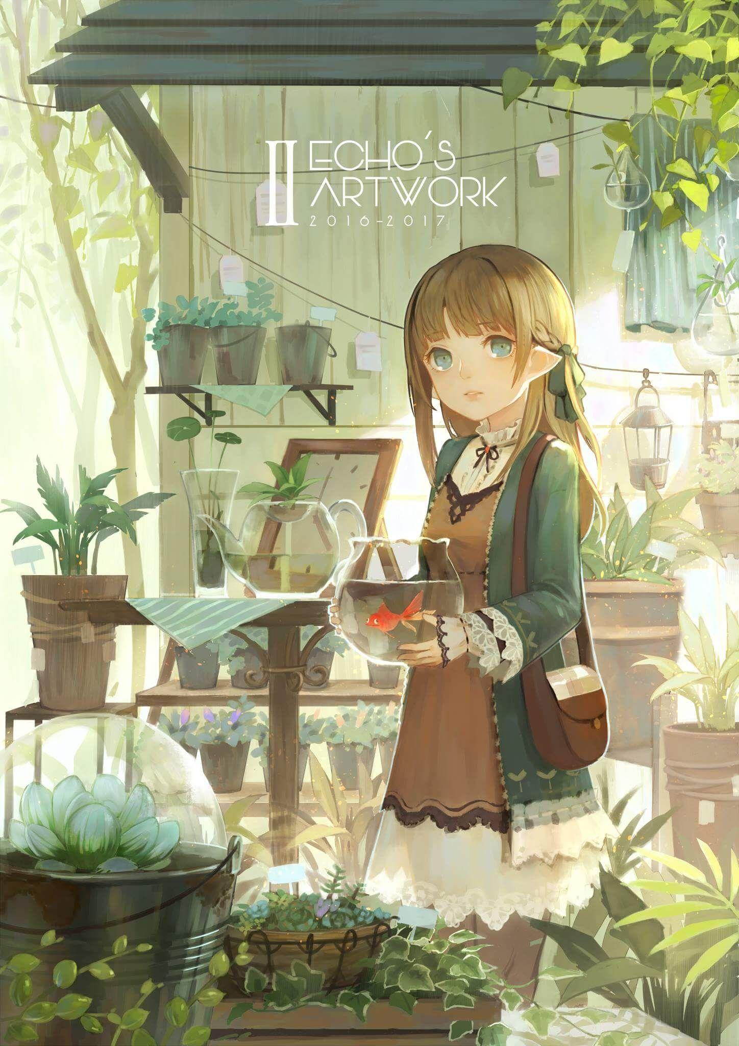 Pin by Byakko on Anime Girls Anime art, Anime scenery