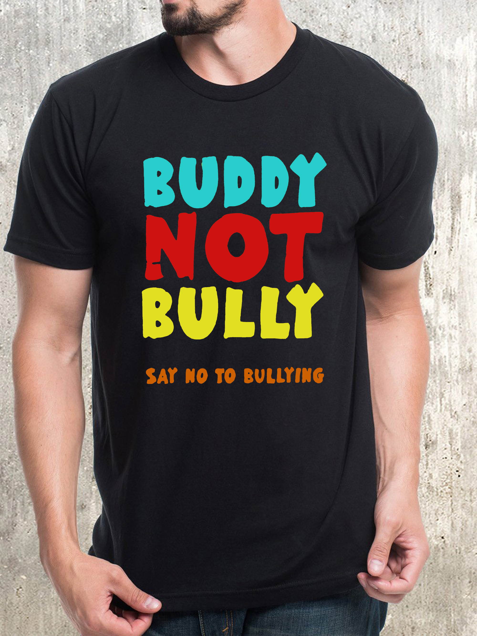 The Bullying Awareness Tshirt Says Be A Buddy Not A Bully