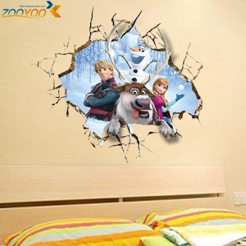 Frozen Movie Wall Sticker Home Decor | Products | Pinterest ...