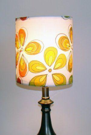 Amazon Com Finn Fab Designs Retro Flowers Lamp Shade Lamps