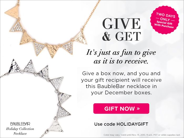 Just got this email - PopSugar is running a promotion for a couple of days: http://popsu.gr/BKw
