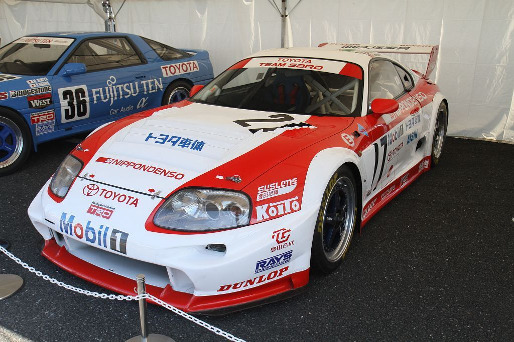 TOYOTA Supra GT LM 27 24 Hours of Le Mans 1995 model