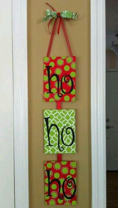 For Space Beside The Front Door Christmas Crafts Pinterest