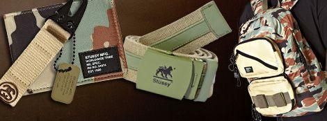 Stussy summer camo accessories