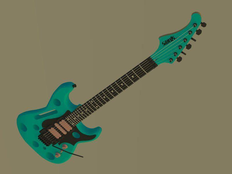 Shannon Sands Guitar Designs
