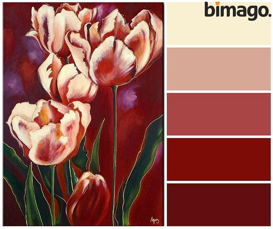 Obraz Na Sciane Romantyczne Tulipany Art Painting