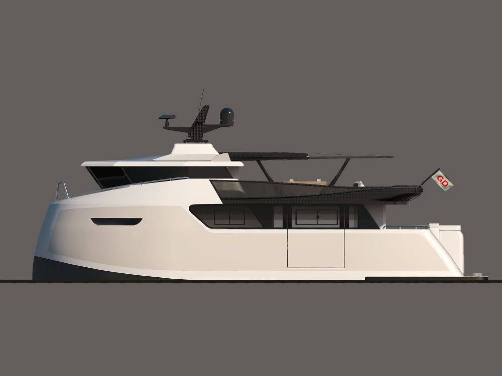 M YachtXTender YXT ONE LYNX Yachts European Institute Of - Giga yacht takes luxury oil tanker sized extreme