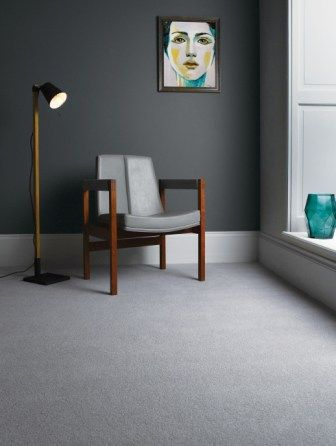 A Retro Look For Our Castlemead Twist Cd125 When Coordinated With Dark Lead Colour 118 By The Little Greene Home Accessories Carpet Colors Interior Inspiration