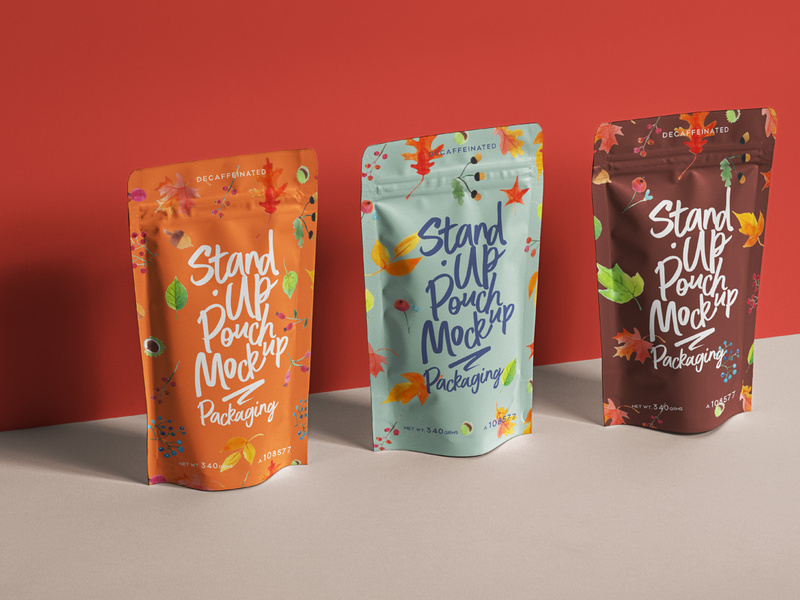 Download Psd Stand Up Pouch Packaging Mockup 2 Pouch Packaging Packaging Mockup Mockup