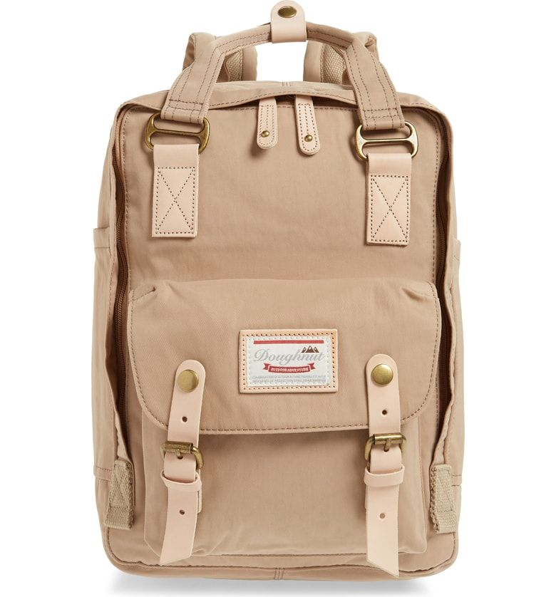 f93b45ba4 Macaroon Water Resistant Backpack, Main, color, Hazelnut | BACKPACK ...