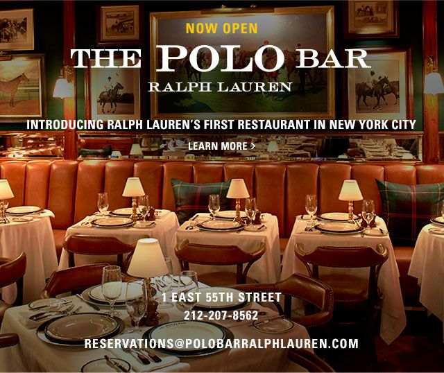 The Polo Bar in New York is Open  716e3bc8779