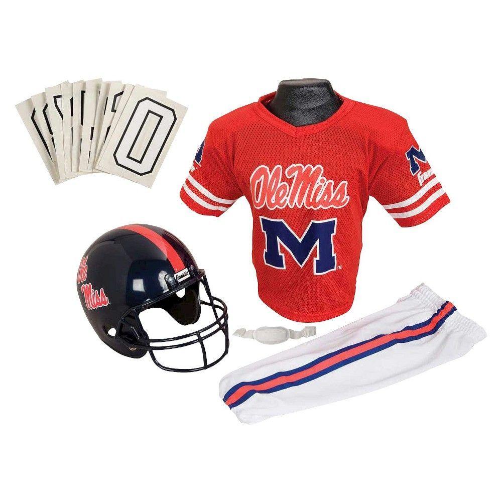 Franklin Sports Team Licensed NCAA Deluxe Football Uniform Set ... 021928989