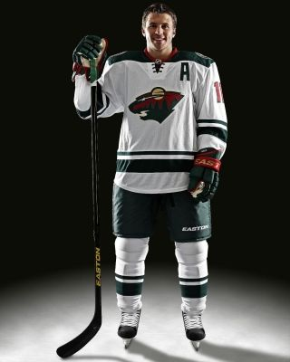 competitive price 04ea7 d0772 Video and photos of new Minnesota Wild road white uniforms ...