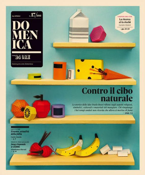 We miss Domenica covers by Il Sole 24 Ore.