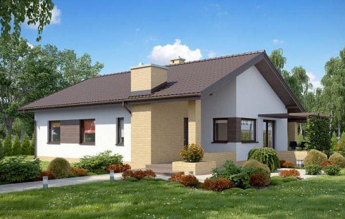 Techos a dos aguas para casas modernas fachadas for Techos planos modernos