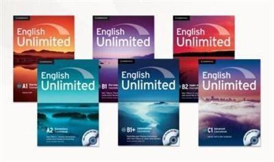 الكورس الكامل لتعليم اللغة الانجليزية English Unlimited A1 A2 B1 B2 B1 C1 Cambridge English English Course English