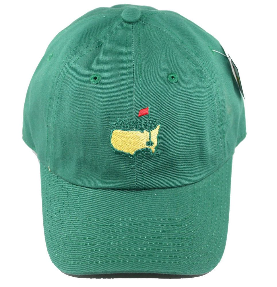 83d3e81ec1bcc Official Masters Golf Green Caddy Slouch Hat - Ships Now and Ships Free!