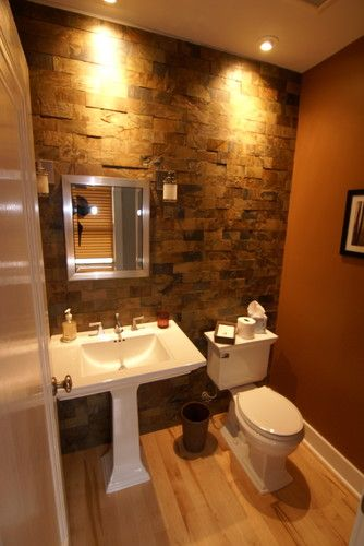 Powder room design pictures remodel decor and ideas for Room design with bathroom
