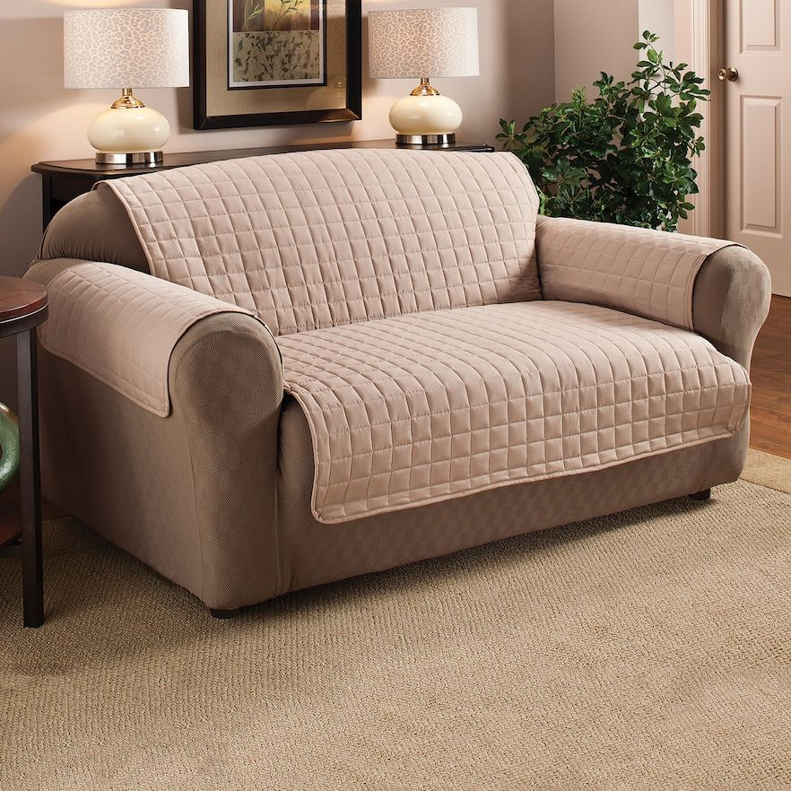 Innovative Textile Solutions Microfiber Furniture Xl Sofa Furniture Slipcover Lt Brown Leather Sofa Covers Sofa Furniture Best Sofa