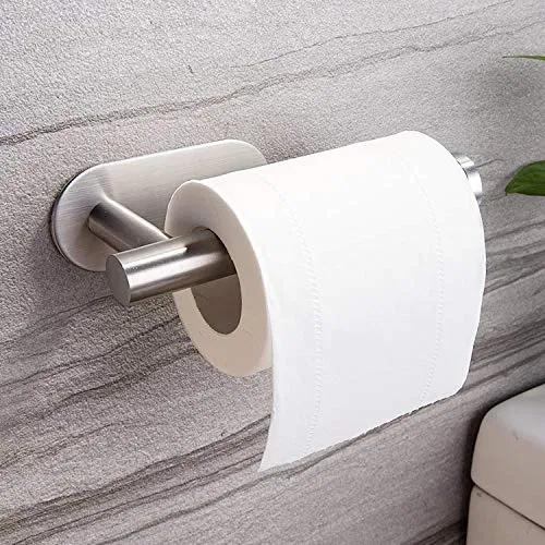 Taozun Toilet Paper Holder Self Adhesive Bathroom Furniturev Com In 2020 Toilet Paper Bathroom Paper Towel Holder Toilet Paper Holder