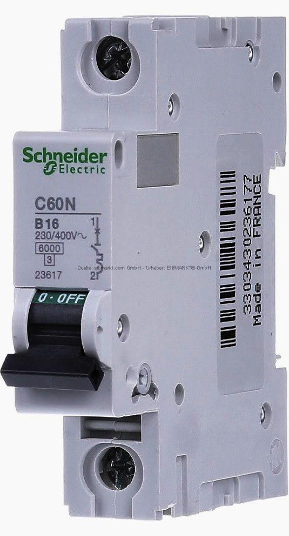 Miniature Circuit Breaker  Mcb  16a B 1p