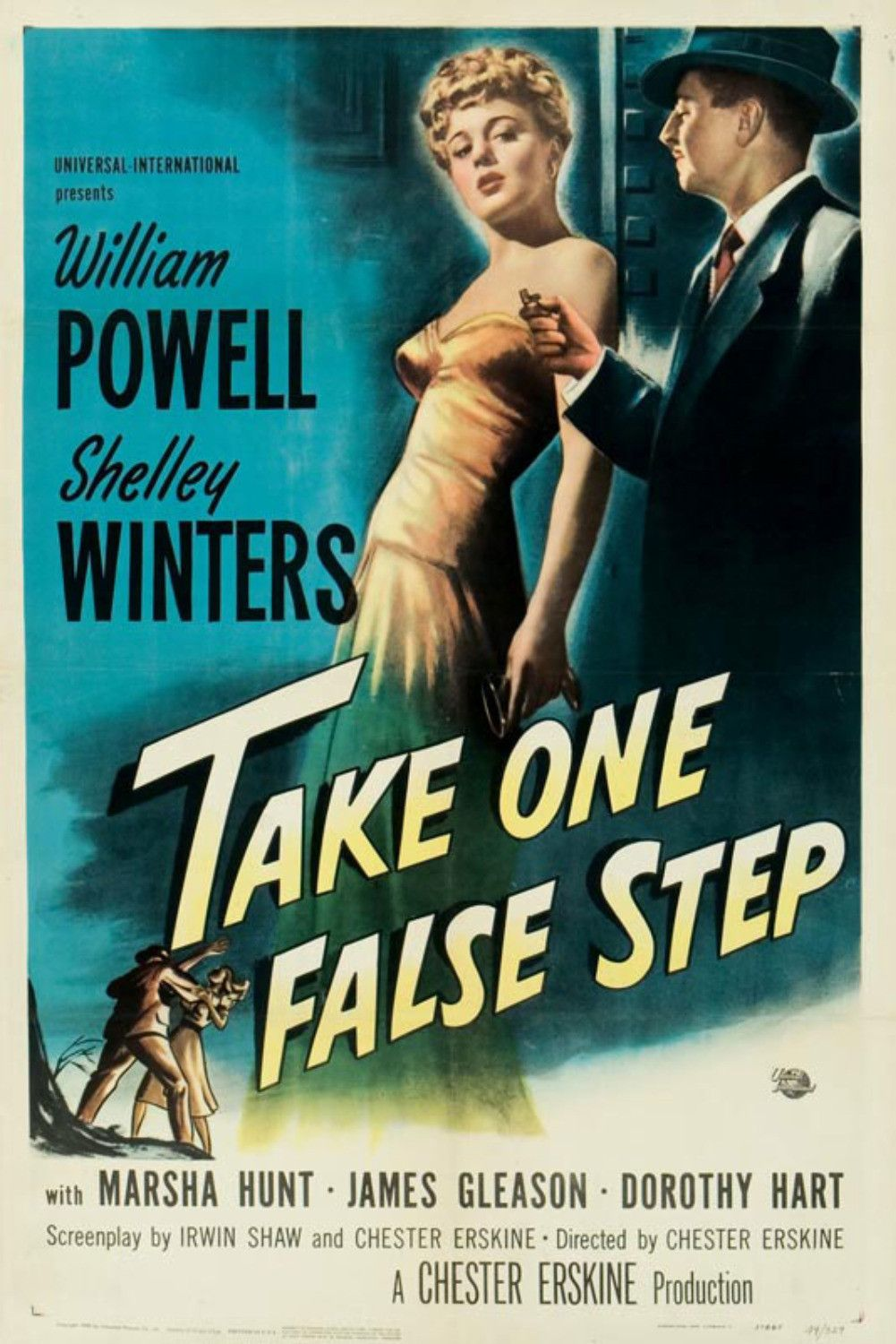 Take One False Step 1949 Classic Movie Posters Old Movie Posters Movie Posters Vintage