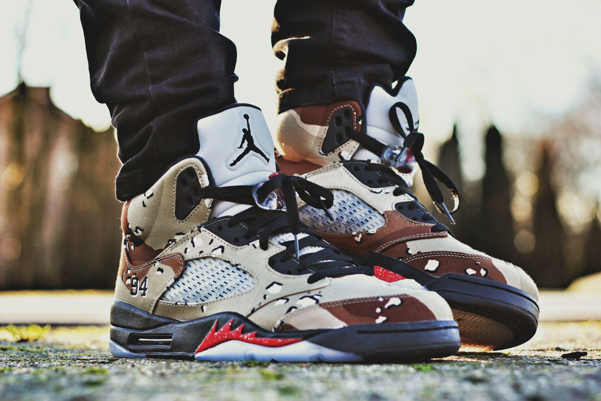 Supreme x Air Jordan 5 \