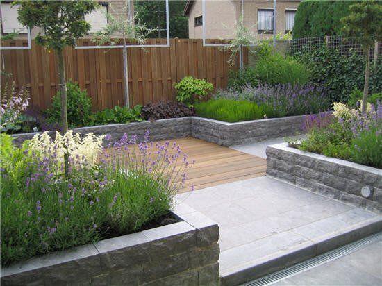 Patiogarden by guy wolfs mooie goed gevulde verhoogde for Ideeen voor tuin