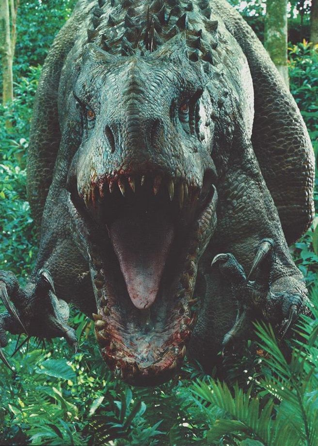 The Indominus Rex Finally Reveals Itself In Epic New Images From Jurassic World Dinosaurios De Jurassic Park Fotos De Dinosaurios Jurassic World