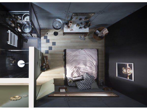 Une micro salle de bains dans moins de 3 m² | Leroy Merlin | salle d ...