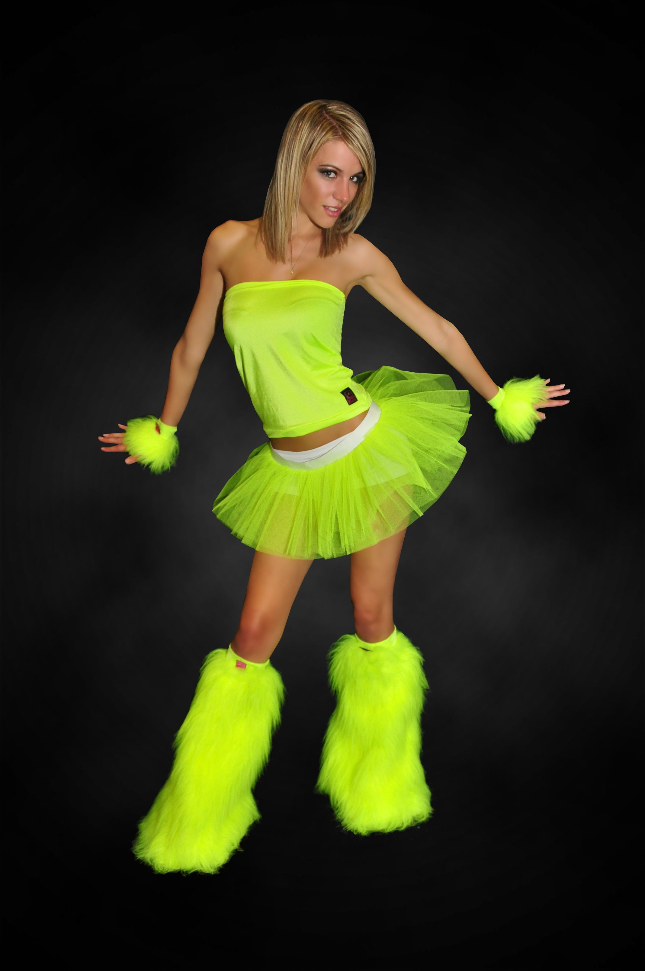 Neon Outfit Party : items that are the color yellow rave tutu rave outfits neon outfits neon fashion ~ Yuntae.com Dekorationen Ideen