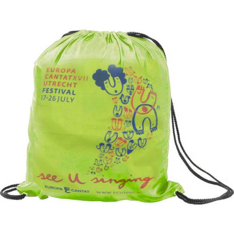 6c92c91b9c8 Rugzak met Koord, custom made, drawstring bags bedrukken - Promofit ...