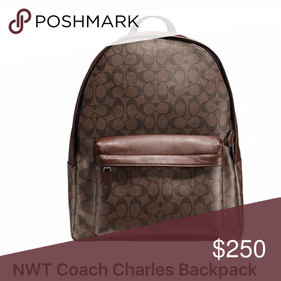 Coach backpack Charles coach backpack new with tags Coach Bags Backpacks
