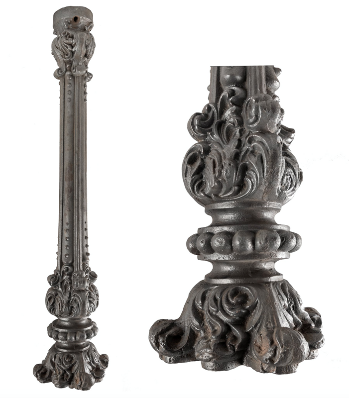 Victorian Ornate Cast Iron Newel Post The Architectural Forum Screenshot 2019 01 02 211302 Main 636820604670451423 Png Newel Posts Ornate Architectural Salvage