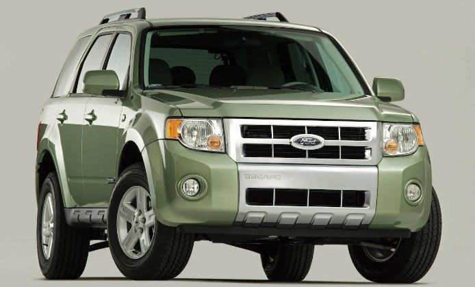 2009 Ford Escape Owners Manual Ford Escape Suv Ford Explorer