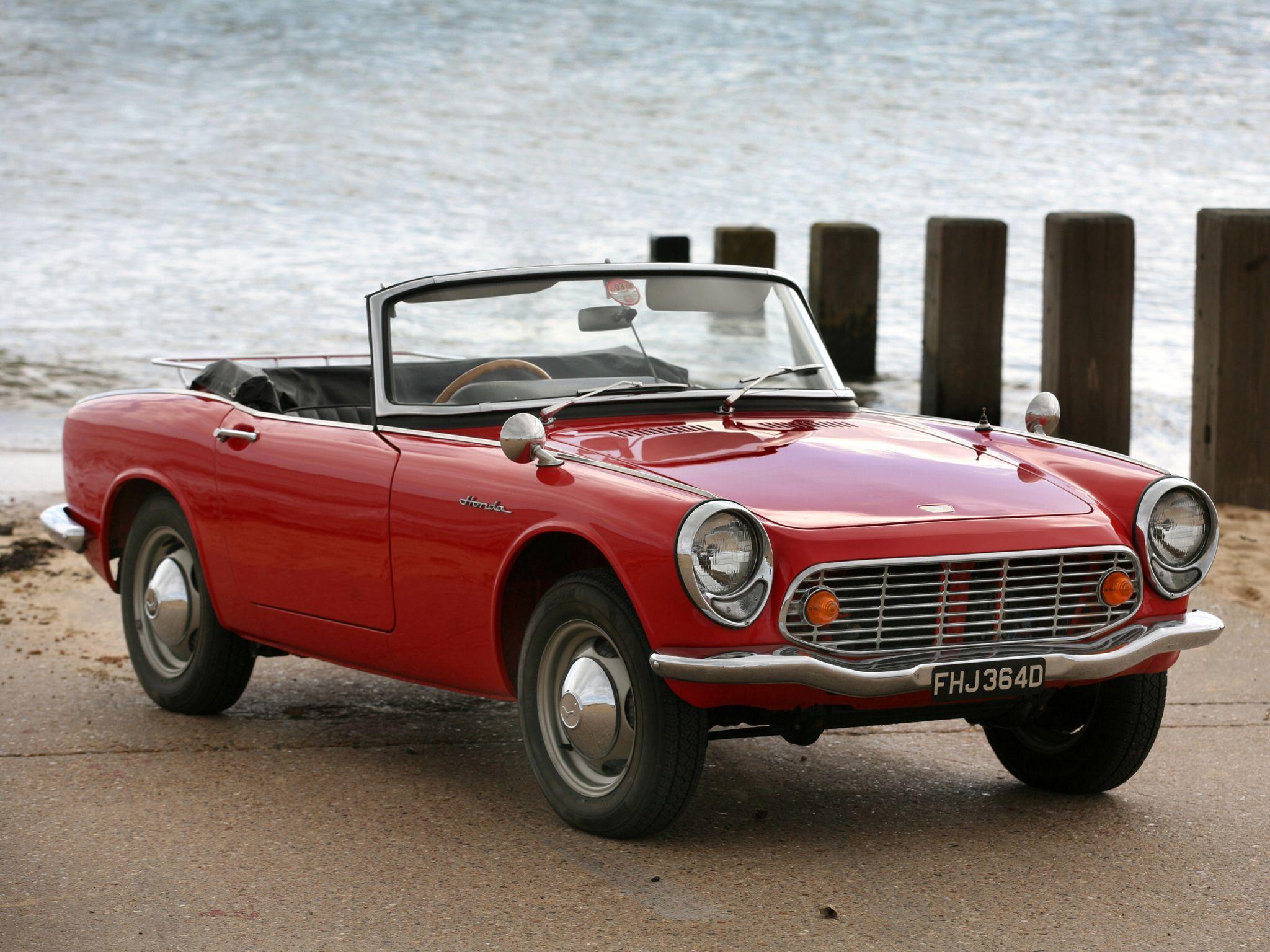 Gentil Sports Cars · Honda S600. 606 Cc, 57 Hp. 1964 66. Chain Drive!