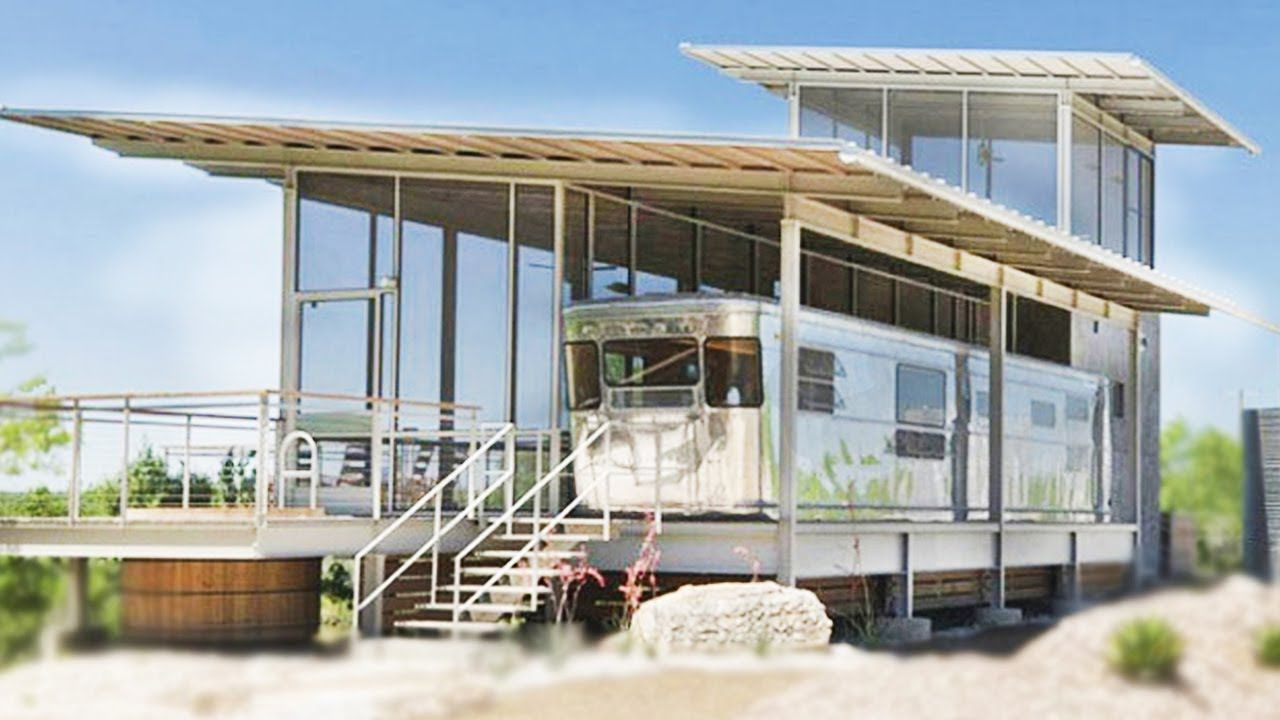 A Vintage Spartan House Overlooking The Nueces River In Texas