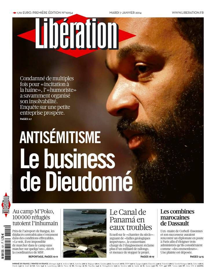 Libération - Mardi 7 Janvier 2014 - N° 10154