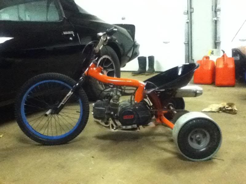gas powered drift trike build page 4