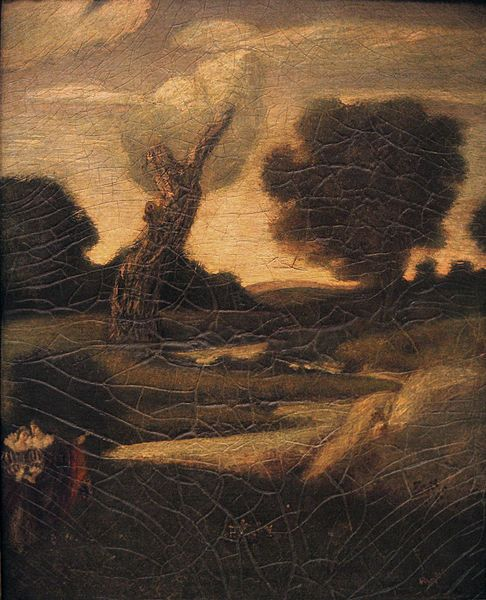 Albert Pinkham Ryder, The Forest of Arden, 1888 - 1897, possibly reworked 1908