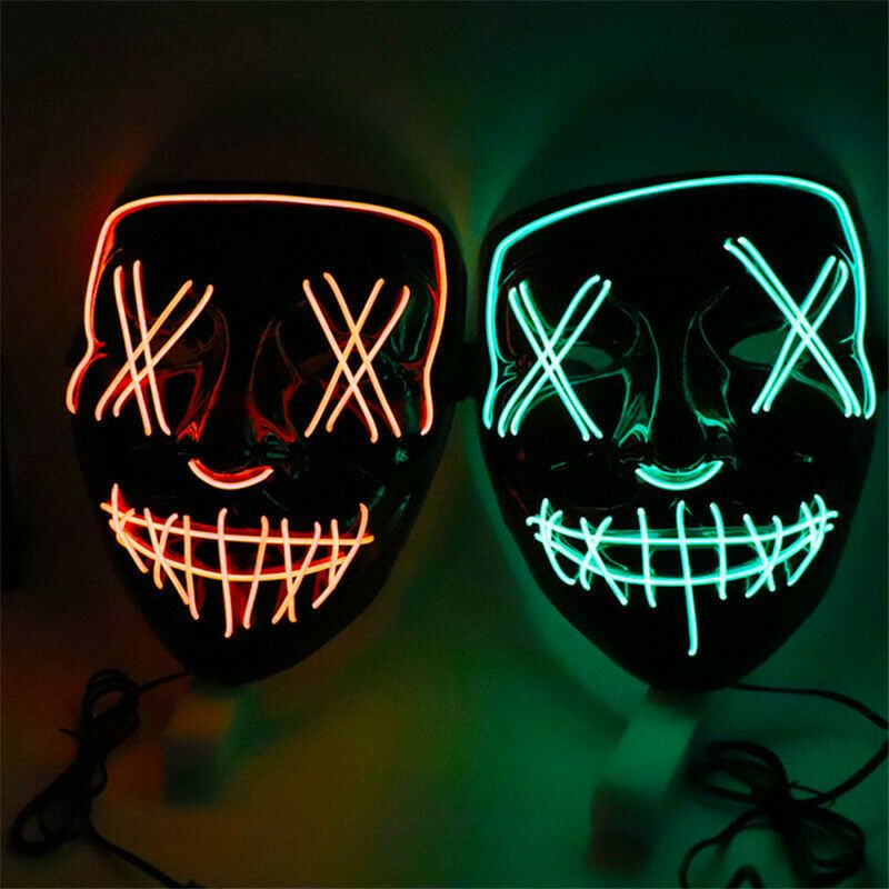 Waylike Scary Mask Halloween Scary Mask Latex Halloween Costumes Rubber Halloween Decorations for Zombie mask